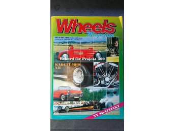 Wheels nr 10 1988: Plymouth AAR Cuda, Woodie, Chevrolet Bel Air Cab 1957