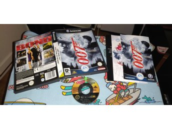 James Bond 007: Everything or Nothing till GameCube! 1kr