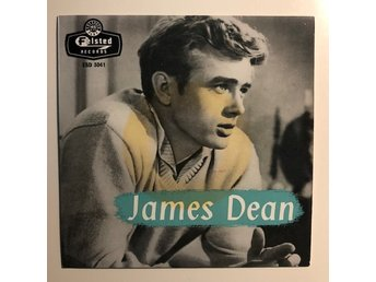 "7"" Eddie Barclay - James Dean (Music from his films) ep 60's UK"