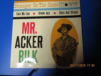 "Mr. Acker Bilk ""take my lips / creole jazz / stars and stripes"""