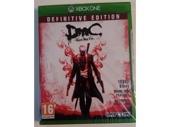 DMC - Devil May Cry Definitive Edition  (XBOX ONE) (NYTT INPLASTAT)