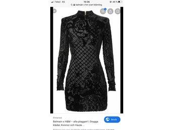 Balmain klänning (391395972) ᐈ Köp på Tradera