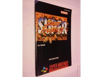 SNES: Manualer: Super Street Fighter II (End. manual - Tysk)
