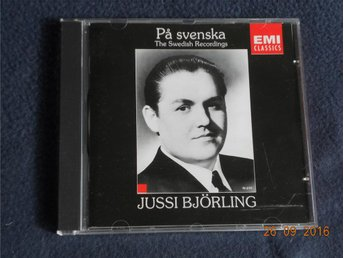 JUSSI BJÖRLING - På svenska (The Swedish Recordings), CD EMI Classics 1996