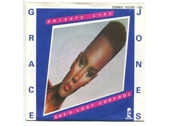 "Grace Jones -Private life/Shes lost cont 7""1980 elctro disco"