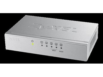 ZyXEL - GS-105B V3,5-portars Desktop Gigabit Ethernet Switch