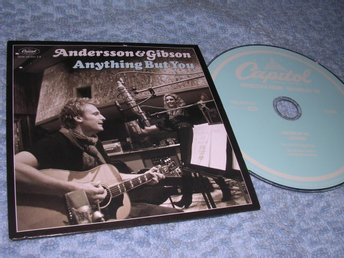Stefan Andersson - Anything But You (cd-singel) NM/NM