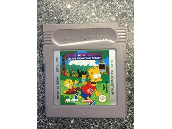 Bart Simpsons Escape from Camp Deadly  , Game Boy