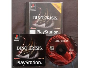 Playstation - Dino Crisis (Resident Evil) (PAL)