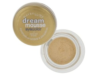 Maybelline Dream Mousse Eye Color Eyeshadow Pots - Divine Gold