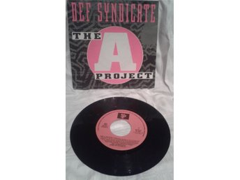 "Singel Vinyl Def Syndicate "" The A-project"" 90-tal!!!!"