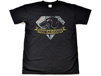 Metal Gear Solid Diamond Dogs T-Shirt Large