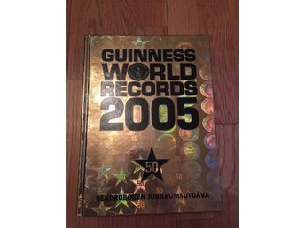 Guinness world Records 2005 boken