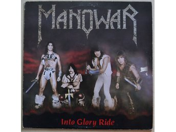 Manowar Into Glory Ride Vinyl LP 1983