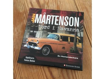 Jan Mårtenson. Mord i Havanna  9 cd