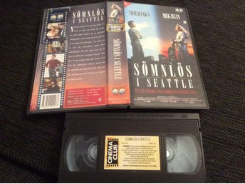 SÖMNLÖS I SEATTLE VHS TOM HANKS, MEG RYAN mm