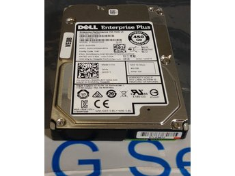 "Dell/Seagate 450GB 15K SAS 12G 2.5"" ST450MP0005 utan vagga"
