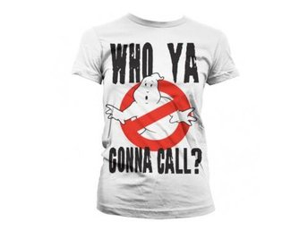 Ghostbusters T-shirt Who Ya Gonna Call Dam M