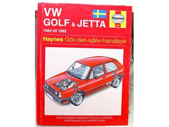 VW Golf & Jetta 1984 - 1992 Haynes Reparationshandbok
