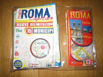 Rome Mini Guide (Map) & Stor Guide (Map)