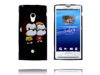 Happy Cartoon (Apor) Sony Ericsson Xperia X10 Skal
