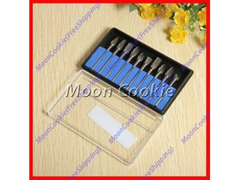 10st Special Borrar/Filar Tungsten Steel Stål Set 10 pcs drill kit borr verktyg