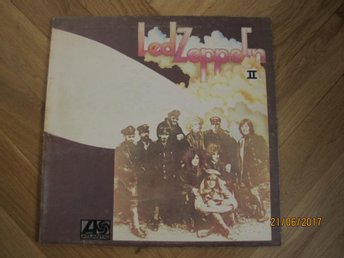 Led Zeppelin - II, UK lp 1970 *LEMON SONG* Plum label