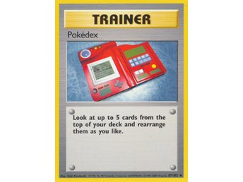 Pokémonkort: Pokédex 87/102 [Base Set] NM