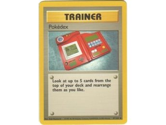 Pokémonkort: Pokédex 87/102 [Base Set]