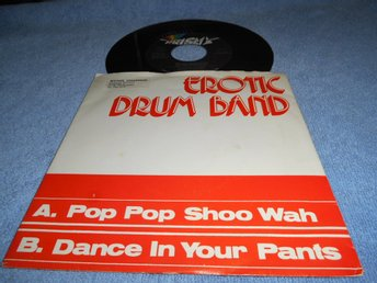 Erotic Drum Band - Pop po shoo wah (si) EX/VG+
