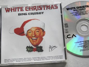 Bing Crosby - White Christmas CD Silent night,Jingle Bells,Silver Bells
