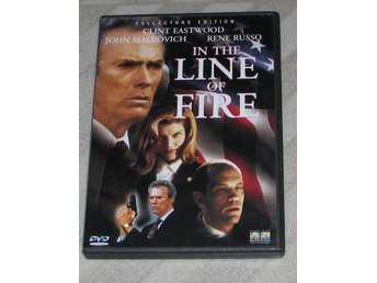 I Skottlinjen - In The Line Of Fire - Svensk Text (DVD) Clint Eastwood - Clintan