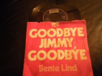 bente lind goodbye jimmy goodbye singel