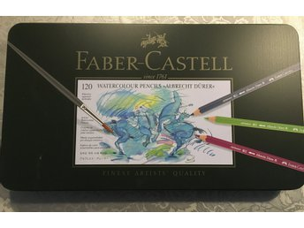 Faber Castell Albrecht Durer WC Pencil Set, 120-set Metalletui
