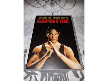 Rapid Fire (1992) *OOP Utgången Film* Brandon Lee