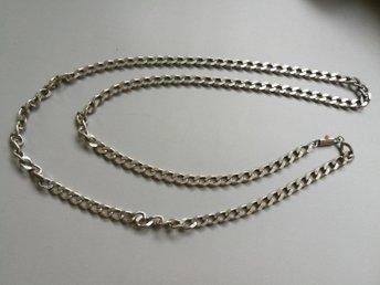pansar halsband silver