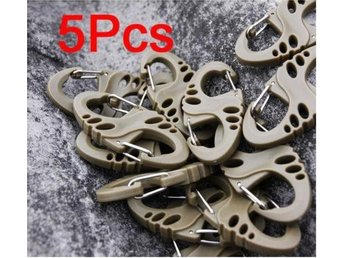 5st Mini Tactical Kabinhake Carabiner Clip Coffee