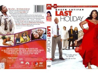 Last Holiday – 2006 – Queen Latifah, LL Cool J, T. Hutton – Regissör: Wayne Wang - Malmö - Last Holiday – 2006 – Queen Latifah, LL Cool J, T. Hutton – Regissör: Wayne Wang - Malmö
