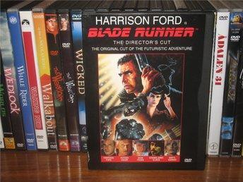 BLADE RUNNER (Directors Cut) (Snap Case) - Harrison Ford *UTGÅTT* Svensk text - åmål - BLADE RUNNER (Director's Cut) (Snap Case) - Harrison Ford *UTGÅTT* Svensk text - åmål