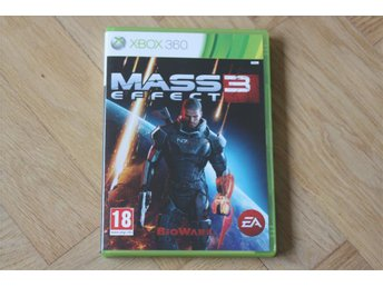 Mass Effect 3 Xbox 360 spel