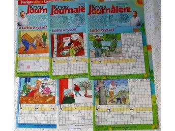 110 sidor kryss, sudoko knep å knåp / kryssjournalen (2015) - Kalix - 110 sidor kryss, sudoko knep å knåp / kryssjournalen (2015) - Kalix