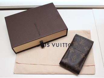 Louis Vuitton Cigarette Case/mobilväska i Monogram Canvas (Cigarettetui LV)