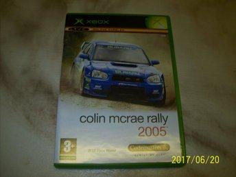 Colin mcrae rally 2005 (X-box) - östra Ljungby - Colin mcrae rally 2005 (X-box) - östra Ljungby