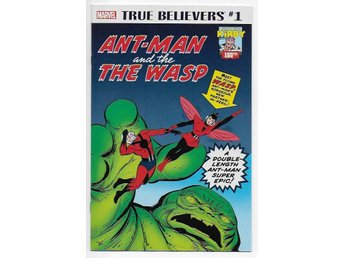 True Believers: Kirby 100th - Ant-Man and The Wasp # 1 NM Ny Import