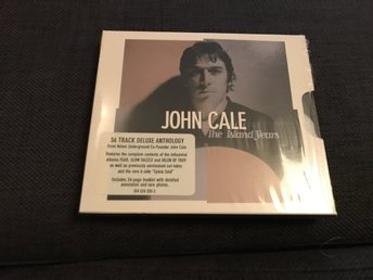 John Cale - The island years 2-cd, med Cales tre skivor för ISLAND