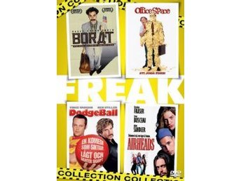 Freak Collection (4-disc)-Borat, Office Space, Dodge Ball och Airheads