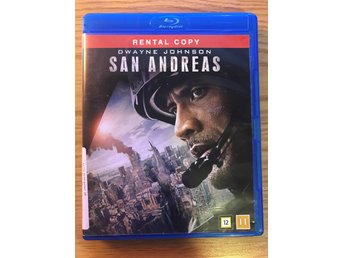 Blu-Ray: SAN ANDREAS - Dwayne Johnson