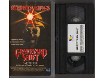 GRAVEYARD SHIFT - VHS (Stephen King)