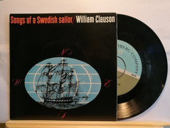 WILLIAM CLAUSON - SONGS OF A SWEDISH SAILOR