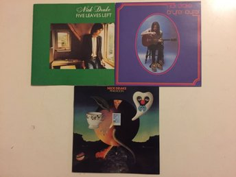 NICK DRAKE - alla tre album - Five Leaves Left, Bryter Later, Pink Moon